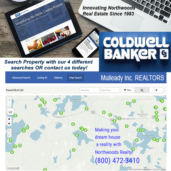 Northwoods Property Search